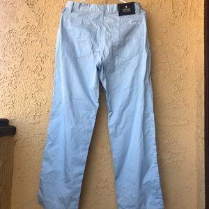 Versace Cotton Pants light blue NWOT